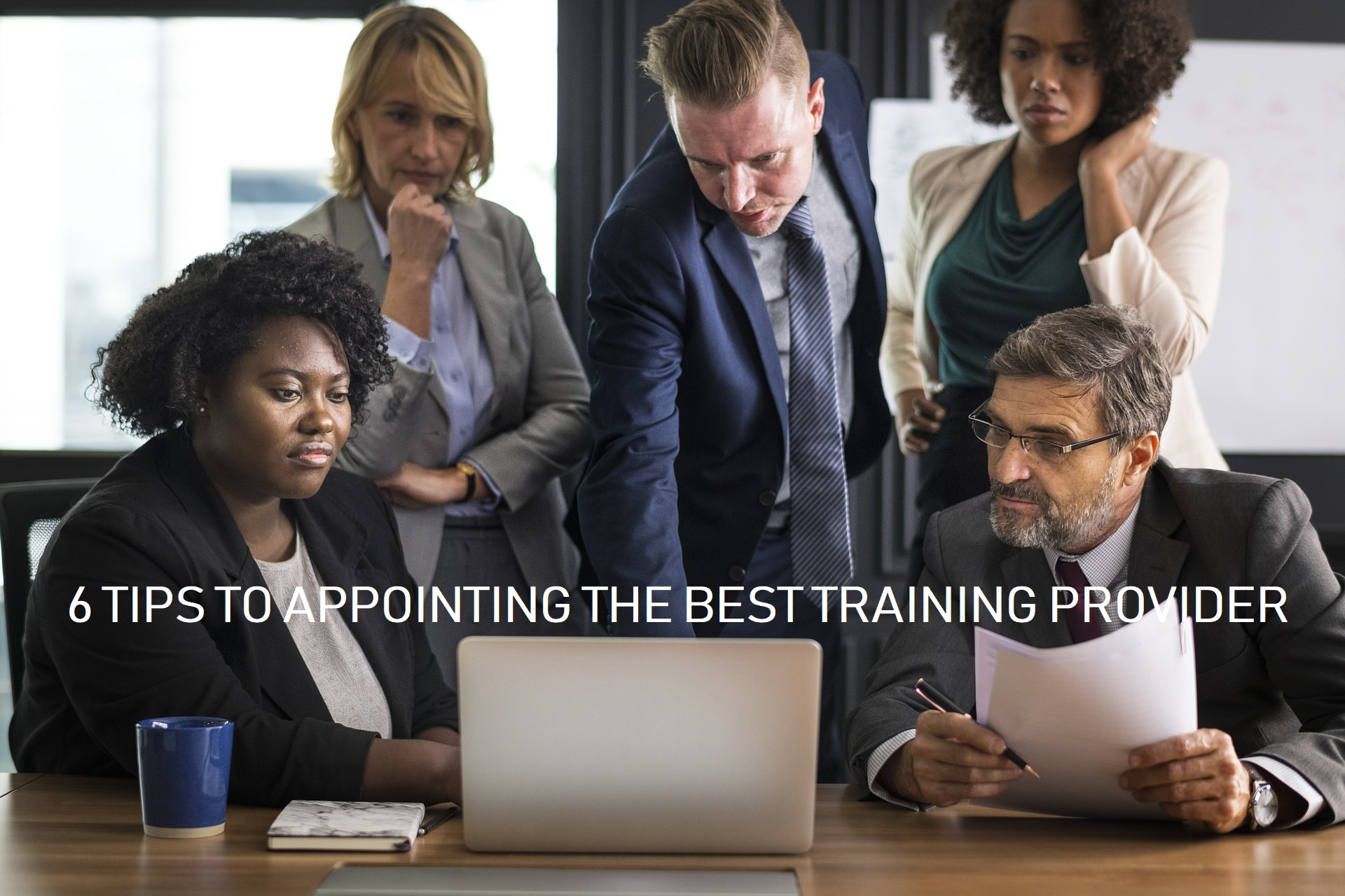 Appointing the best training provider